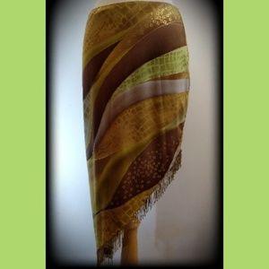 🔴3/$25🔴Cache Vintage Bead Fringe Skirt